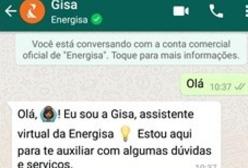 Gisa faz parte de projeto para facilitar a interação entre empresa e cliente (Foto/Reprodução)