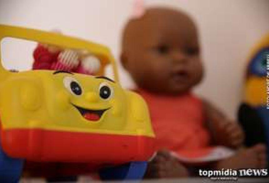 Com a ajuda de um tio do bebê, a PM encontrou o autor