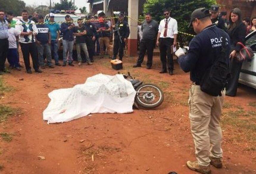 Homem morreu na hora - Foto: Porã News
