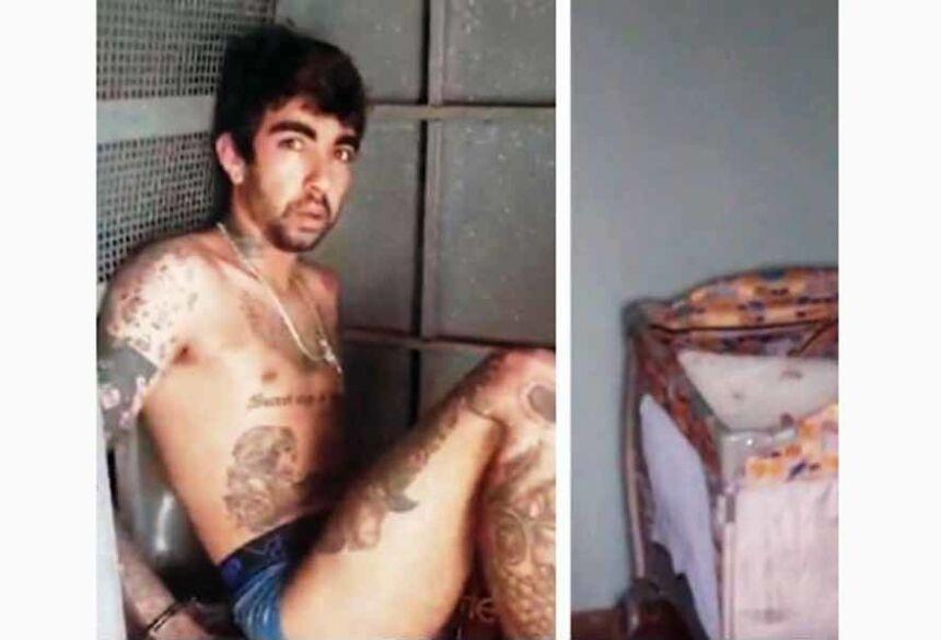 A polícia localizou – dentro da residência – um caderno com várias páginas escritas por Alif.
