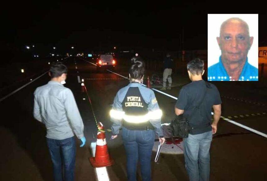 Ele foi atropelado quando seguia de bicicleta na BR-163, próximo ao Trevo do Parque de Exposições.
