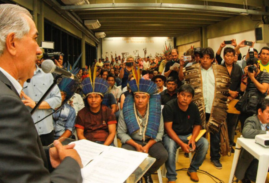 A criação dos conselhos é uma das várias ações do Governo do Estado para atender os indígenas.