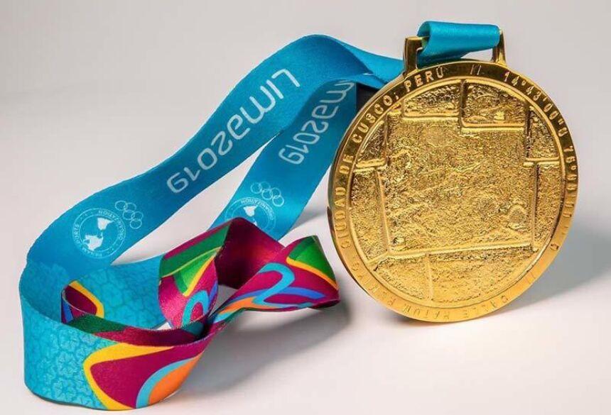 Medalha de ouro Parapan - Foto: reprodução / Twitter
