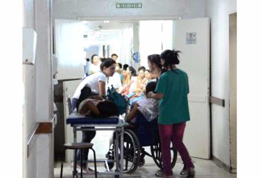 Vítima ficou na fila de espera da Santa Casa de Campo Grande - Foto: Arquivo/Correio do Estado