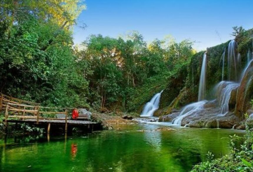 Conheça as belezas do Parque das Cachoeiras em Bonito (MS)!
