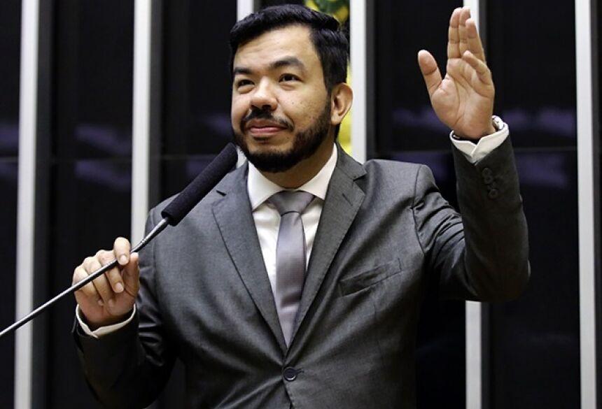Tio Trutis, deputado federal pelo PSL de MS Foto: Divulgação/Câmara dos Deputados