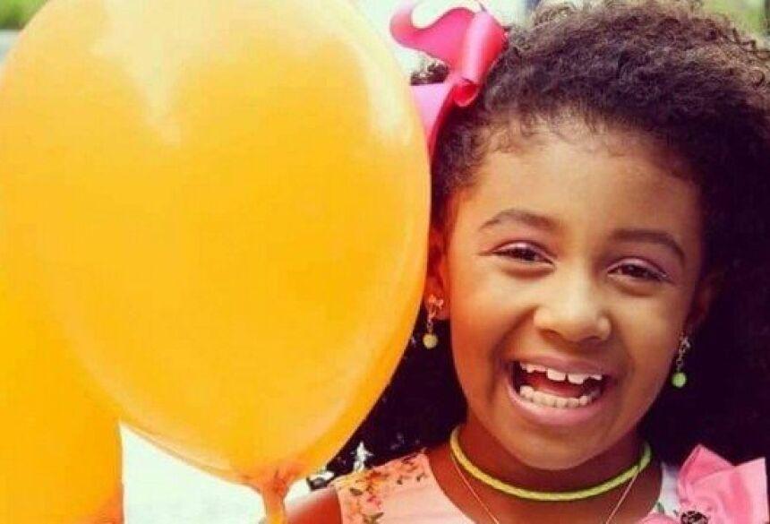 Agatha Félix, de 8 anos, morava no Complexo do Alemão