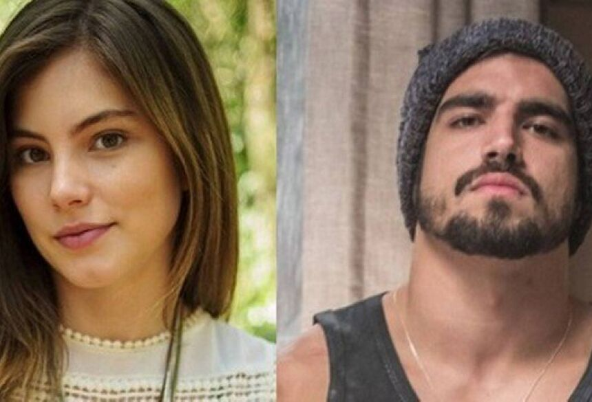 """Joana e Rock em """"A dona do pedaço"""" Foto: Rede Globo/Reprodução"""