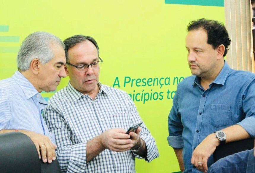 Diretor-presidente da Sanesul, Walter Carneiro, está acompanhando as reuniões em Naviraí