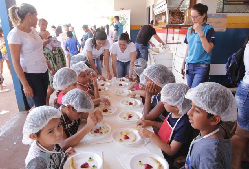 Comunidade da região do Jardim Guaicurus participa da Ação Social UNIGRAN