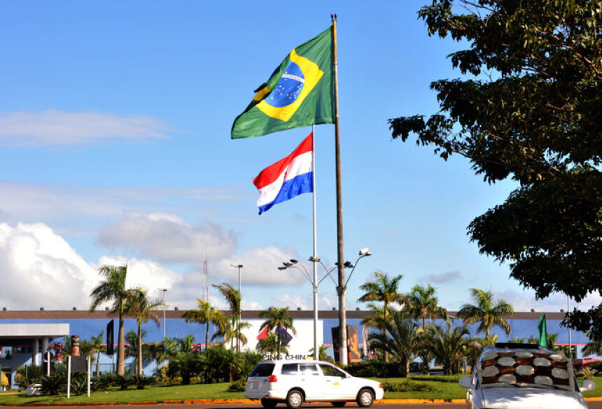 Fronteira com Mato Grosso do Sul é um dos pólos de vendas do Paraguai - Foto: Valdenir Rezende/Correio do Estado