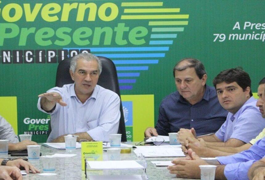 Desde o mês passado Reinaldo Azambuja percorre o interior do Estado com o projeto Governo Presente.