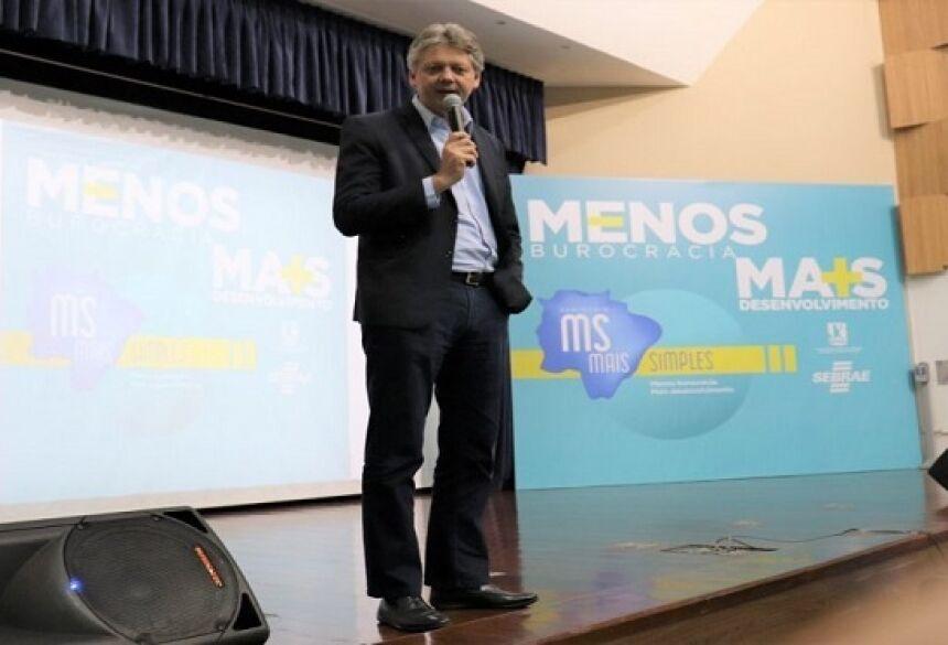 Secretário Jaime Verruck vai apresentar as oportunidades de investimento no MS no evento em São Paulo