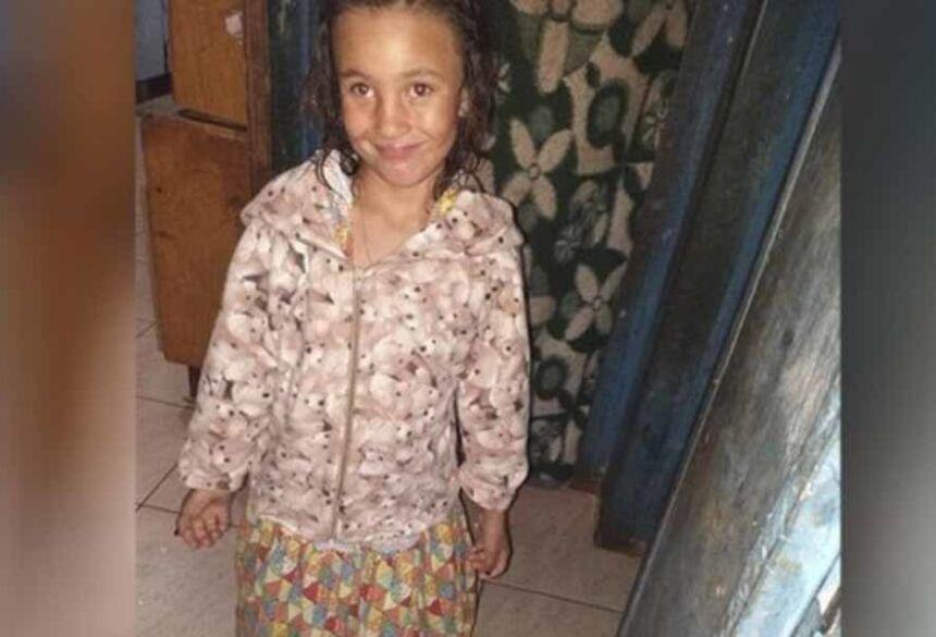 família nas buscas pela região encontraram o corpo de Rafaela Maruim Carolino dentro do córrego.