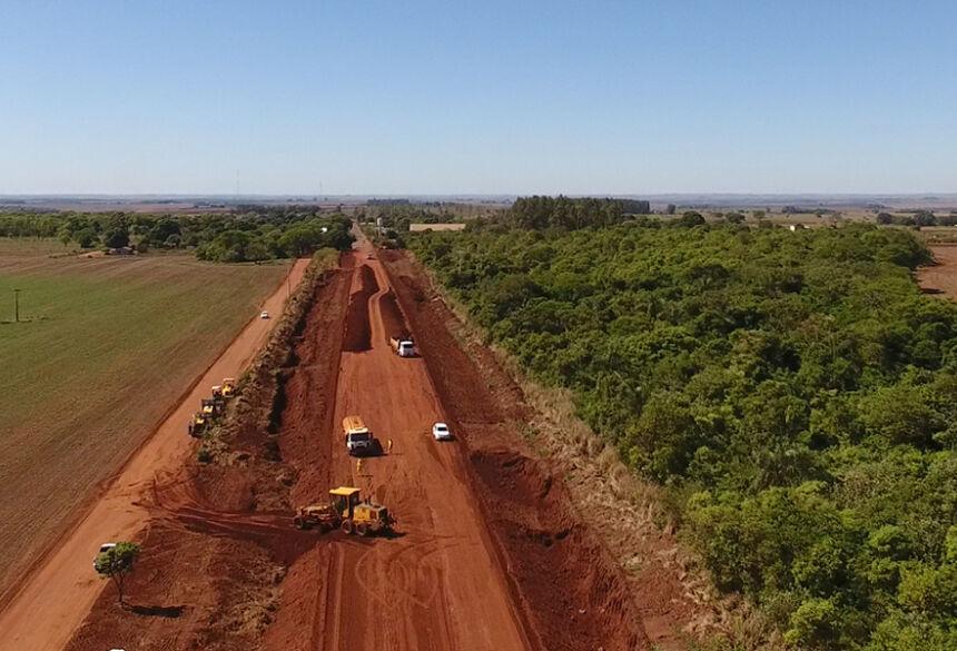 A obra de infraestrutura na MS-379 se estenderá por 42,5 quilômetros