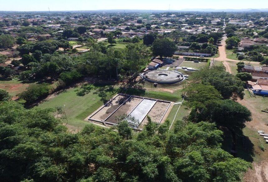 Em Aquidauana, Sanesul investe R$ 7,9 mi e beneficia mais de 2 mil famílias com rede de esgoto