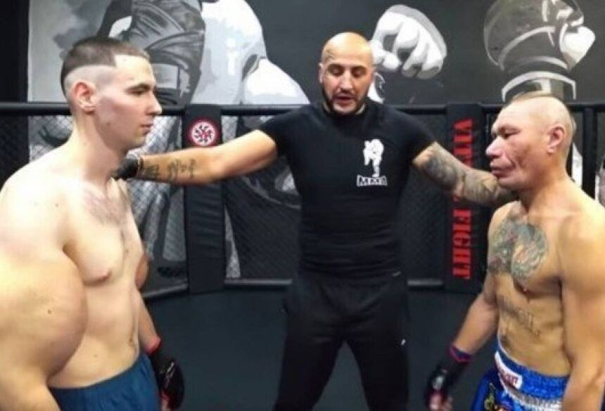 'Popeye' russo faz estreia no MMA Foto: Reprodução