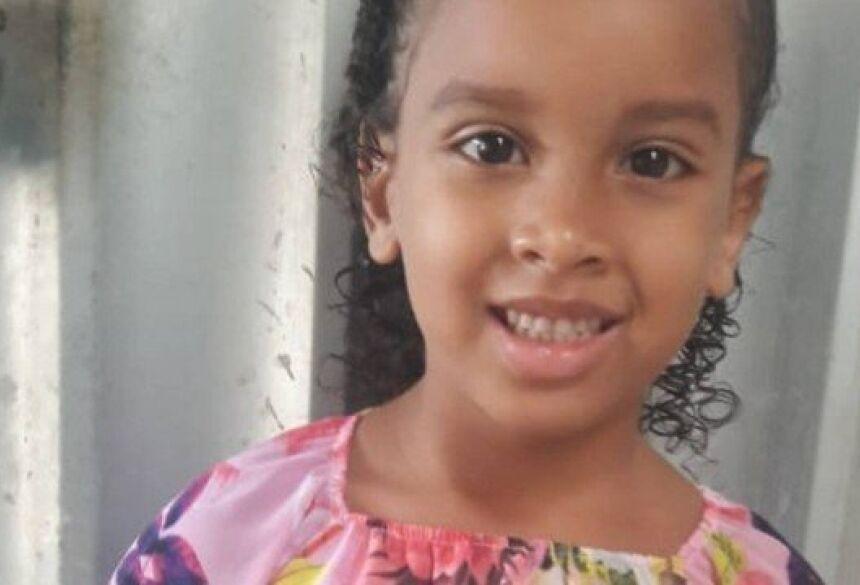 A menina Estela, de 6 anos, estava desaparecida Foto: Reprodução