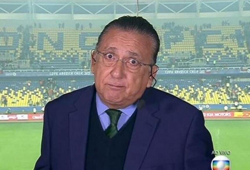 Galvão Bueno - Reprodução / TV