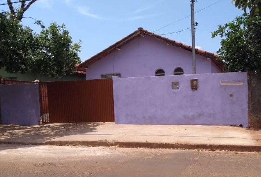 Residência em Nova Andradina que serviu de cativeiro / Imagens: Luis Gustavo/Jornal da Nova