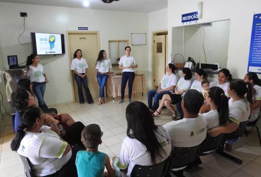 Com curso de Nutrição da UNIGRAN, Projeto Vida Saudável encerra atividades de 2019 com balanço positivo