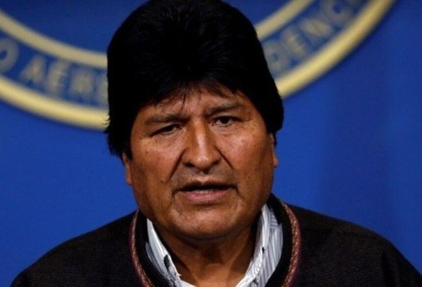Evo Morales renunciou ao cargo de presidente Carlos Garcia Rawlins / Reuters - 10.11.2019