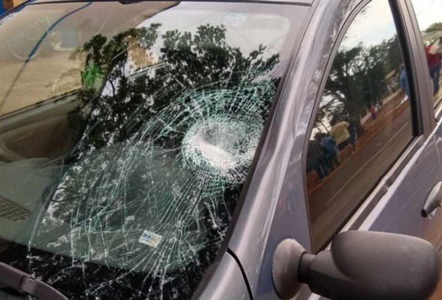 O acidente ocorreu por volta de 14h30 quando Anita tentava atravessar a Avenida Weimar Gonçalves Torres,