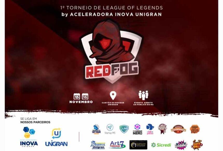 RedFog da Inova UNIGRAN deve receber cerca de 500 pessoas neste fim de semana e vai fortalecer o público gamer da região