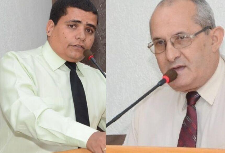 Vereadores Duda e Juraci - FOTOS: ROGÉRIO SANCHES / FÁTIMA NEWS