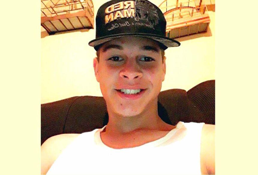 Lucas Coutinho, 17 anos, morreu afogado no lago da Fazenda Realeza em Campo Grande