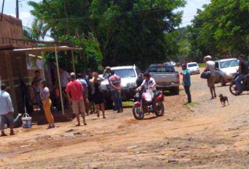 Local onde as vítimas foram assassinadas. Foto: Capitan Bado