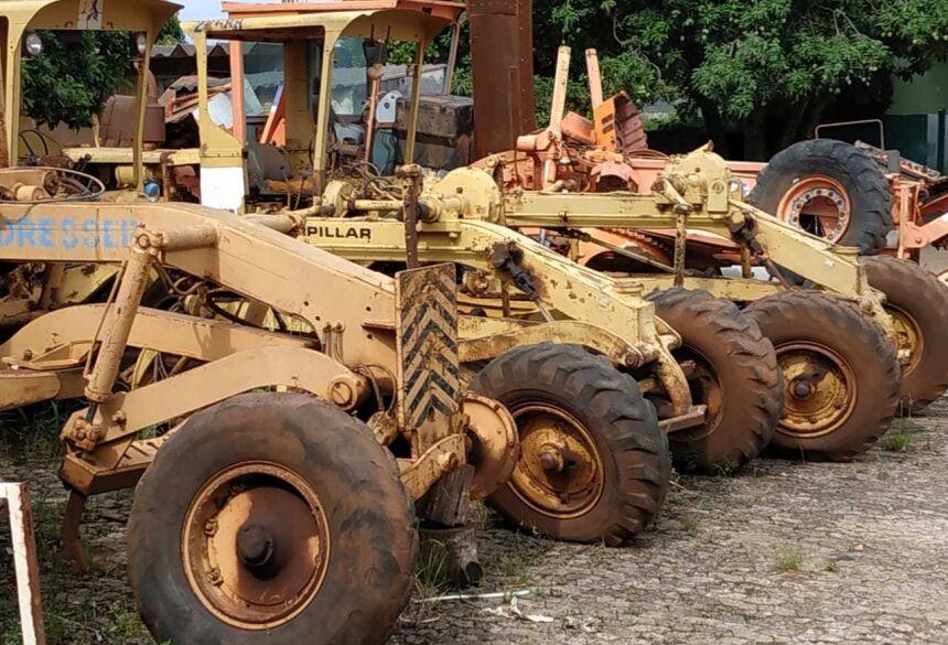 SAD anuncia leilão com 44 lotes de caminhões e maquinários agrícolas