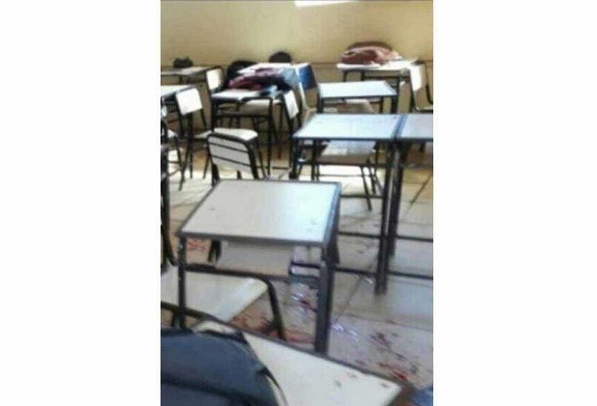 Ex-aluno invadiu escola em Minas Gerais e deixou dois feridos Foto: Reprodução