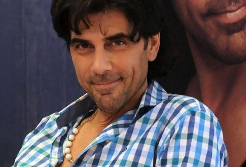 O ator Juan Darthés Foto: FLORENCIA DOWNES / AFP PHOTO / TELAM