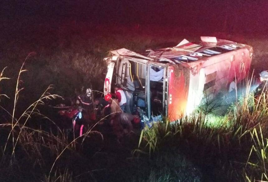 As vítimas foram encaminhadas ao Hospital da Vida (Foto