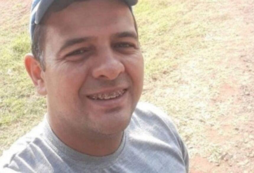 apicultor Dierley Souza Bueno, de 35 anos.