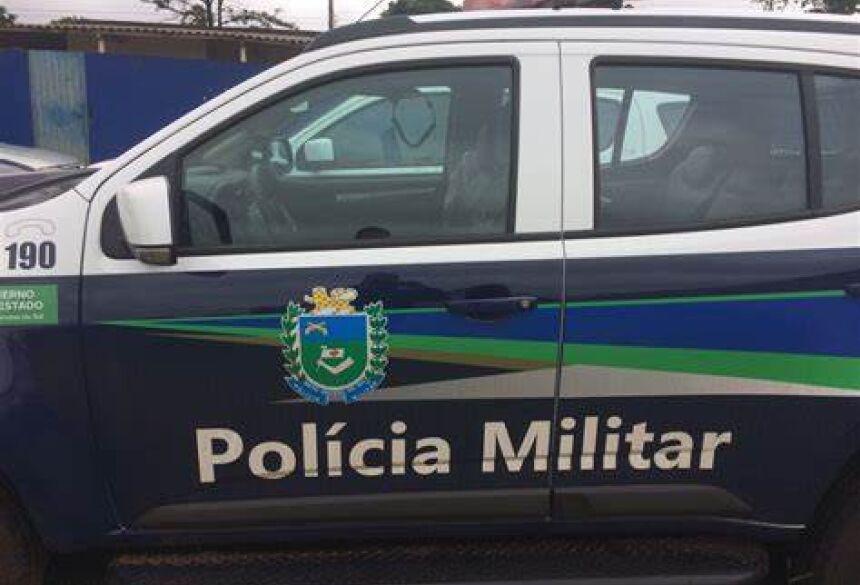 O autor A.M.S foi conduzido à Polícia Civil para providências cabíveis
