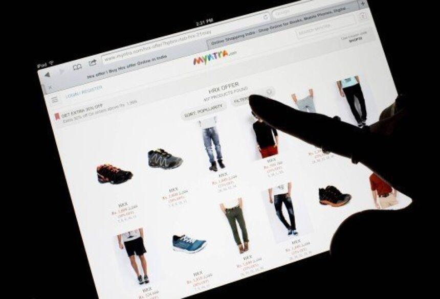 Sites de venda de roupas devem informar todas as especificações das peças Foto: Brent Lewin / Bloomberg