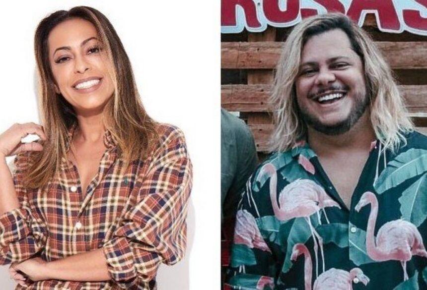 Samantha Schmütz e Marcus Majella: briga nos bastidores Foto: reprodução/ instagram