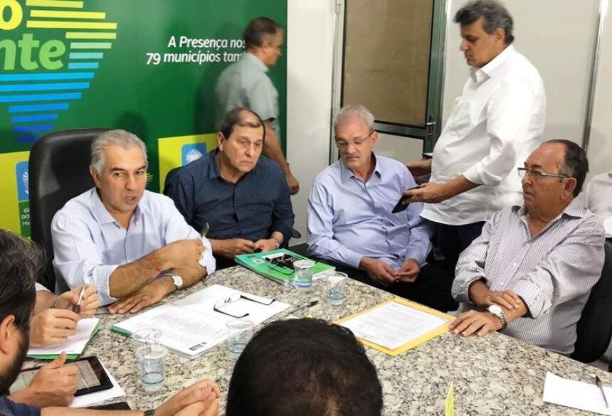 Projetos foram apresentados pelo prefeito ao governador em outubro do ano passado. Foto: Jabuty