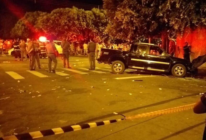 Duas dessas vítimas, João Bringel, de 56 anos, e Jhonatan Coelho Rocha, de 26, não resistiram aos ferimentos.