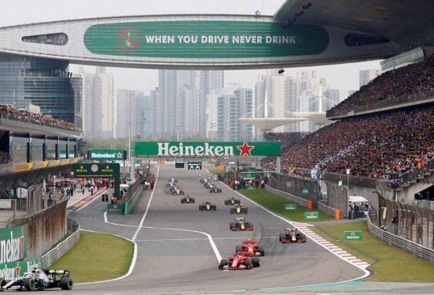 Grande Prêmio da China de Fórmula 1 é adiado por causa do coronavírus Foto: Aly Song / REUTERS