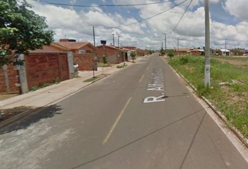 Caso aconteceu nesta rua no Portal Caiobá. (Foto: Reprodução Google)
