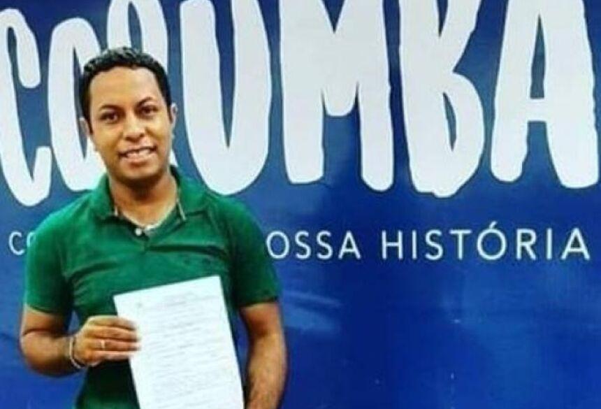 Márcio estava desaparecido deste ontem de manhã (Foto: reprodução / Diário Corumbaense)