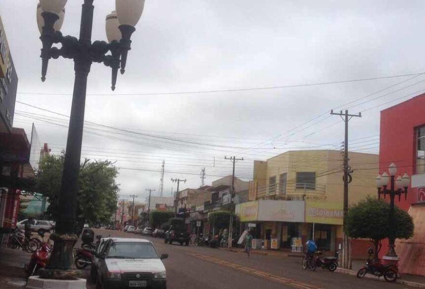 Previsão de 15 mm para hoje em Fátima do Sul (AdeLuz)