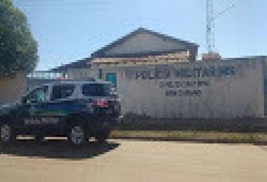 Caso foi registrado pela PM de Água Clara na delegacia (Foto: Reprodução)