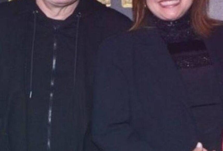 Gugu e Rose Miriam Foto: Arquivo