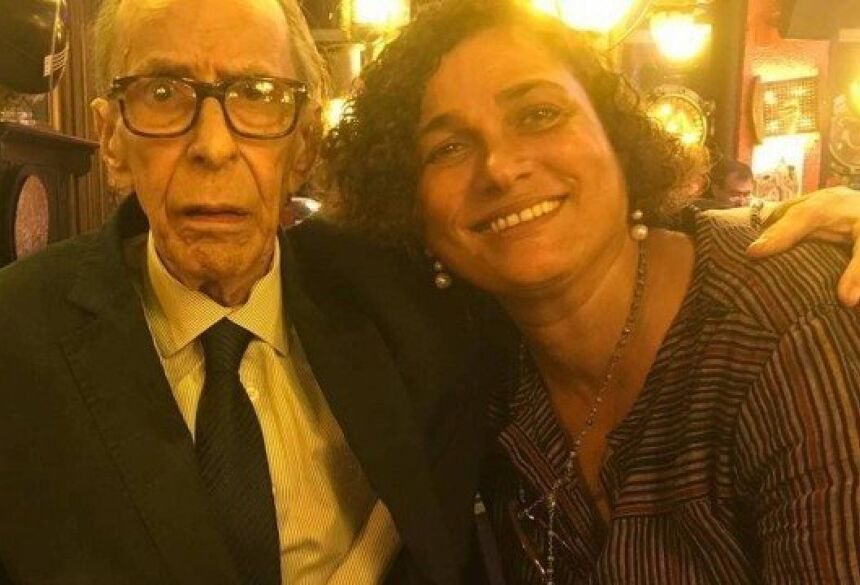 João Gilberto e Maria do Céu pouco tempo antes do músico morrer Foto: reprodução/ instagram