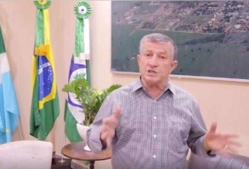 Prefeito de Jateí, Eraldo Jorge Leite - Jateí decreta TOQUE DE RECOLHER e fechamento de comércio por 15 dias