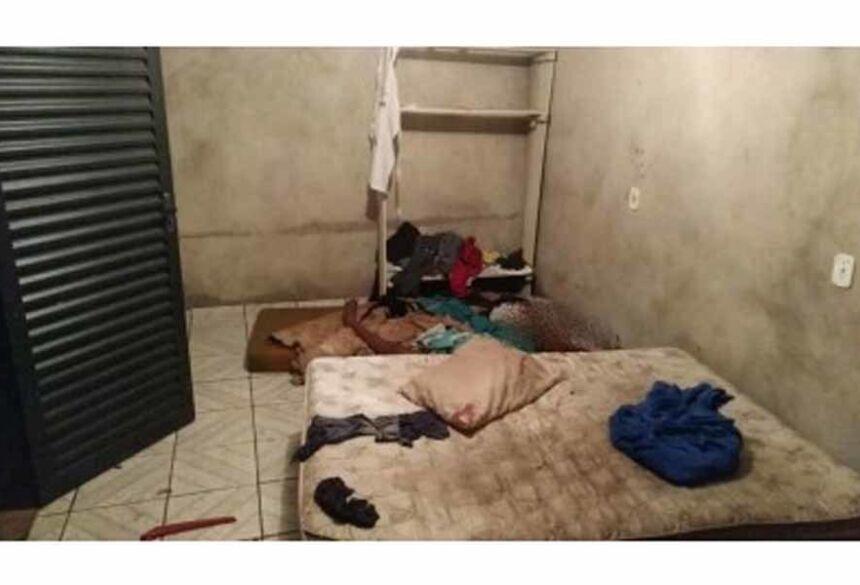 O crime aconteceu ma casa da vítima - Foto: Sidnei Bronka